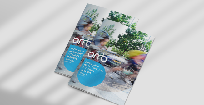 ARRB Safer Road Infrastructure Specialist Services Brochure  social post plain