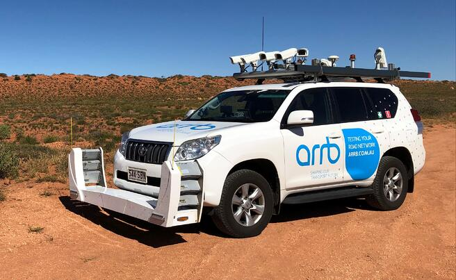 ARRB survey vehicle data collection