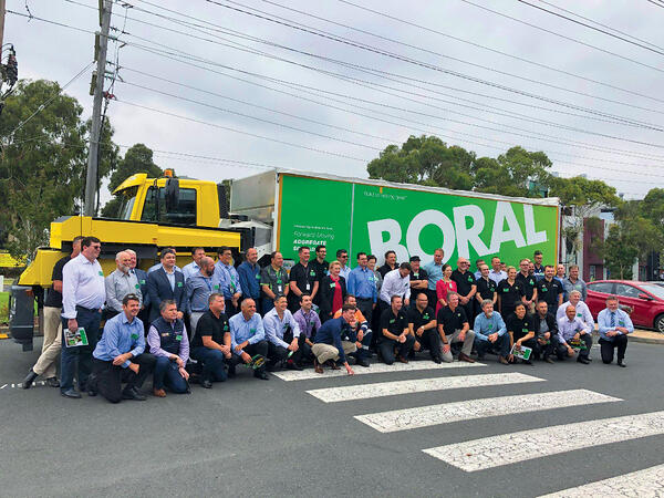 Boral team