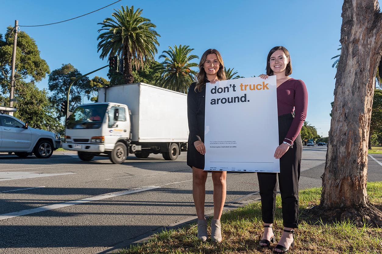 Don't truck around - Re-act