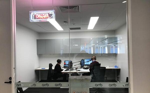 New webinar room