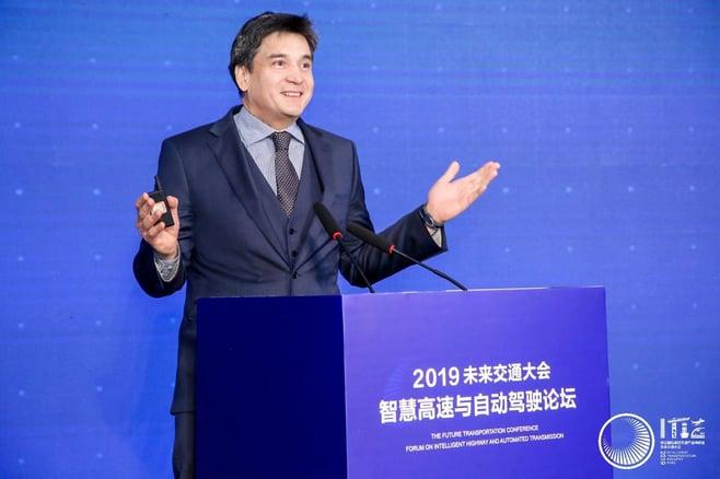 Richard Yeo in China