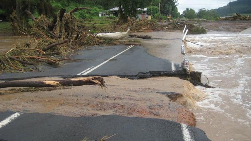 Sustainability Flooded Road
