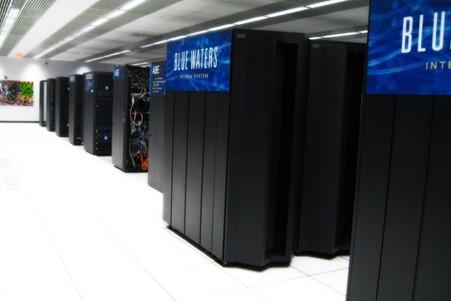 Virtual bees Blue Water supercomputer