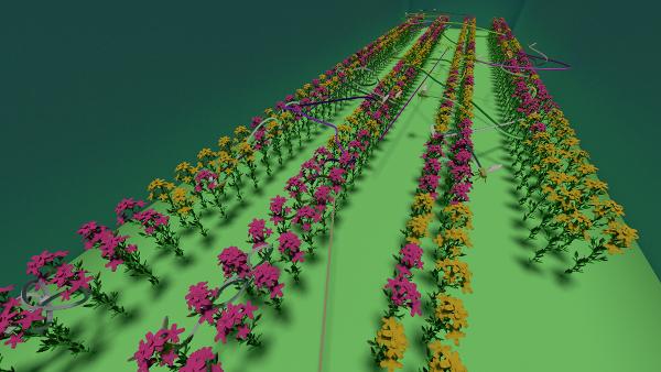 Virtual bees virtual greenhouse-1