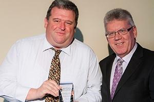 Knowledge Transfer Commitment Award winner - Paul Hillier