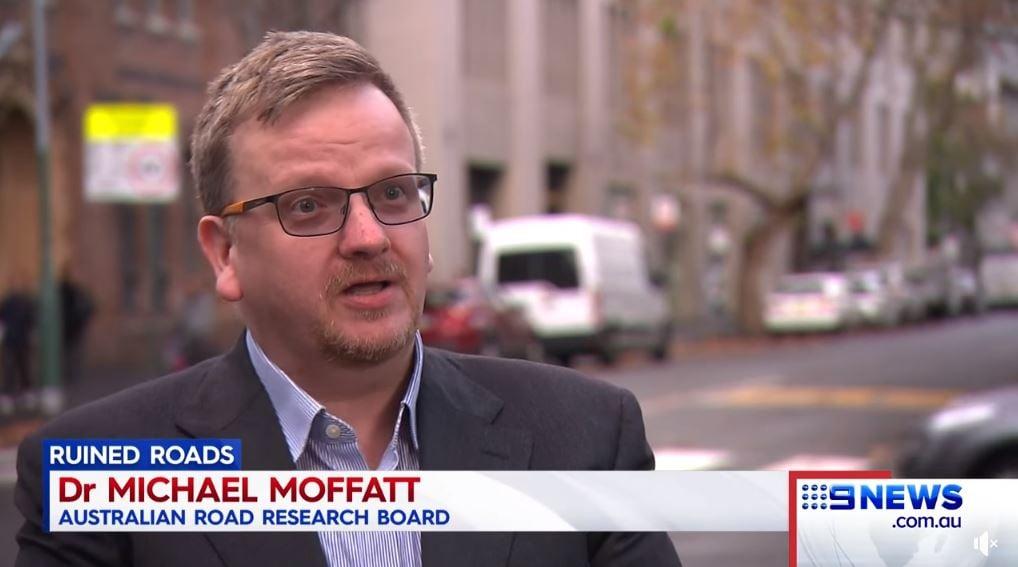 Mike Moffatt 9 news
