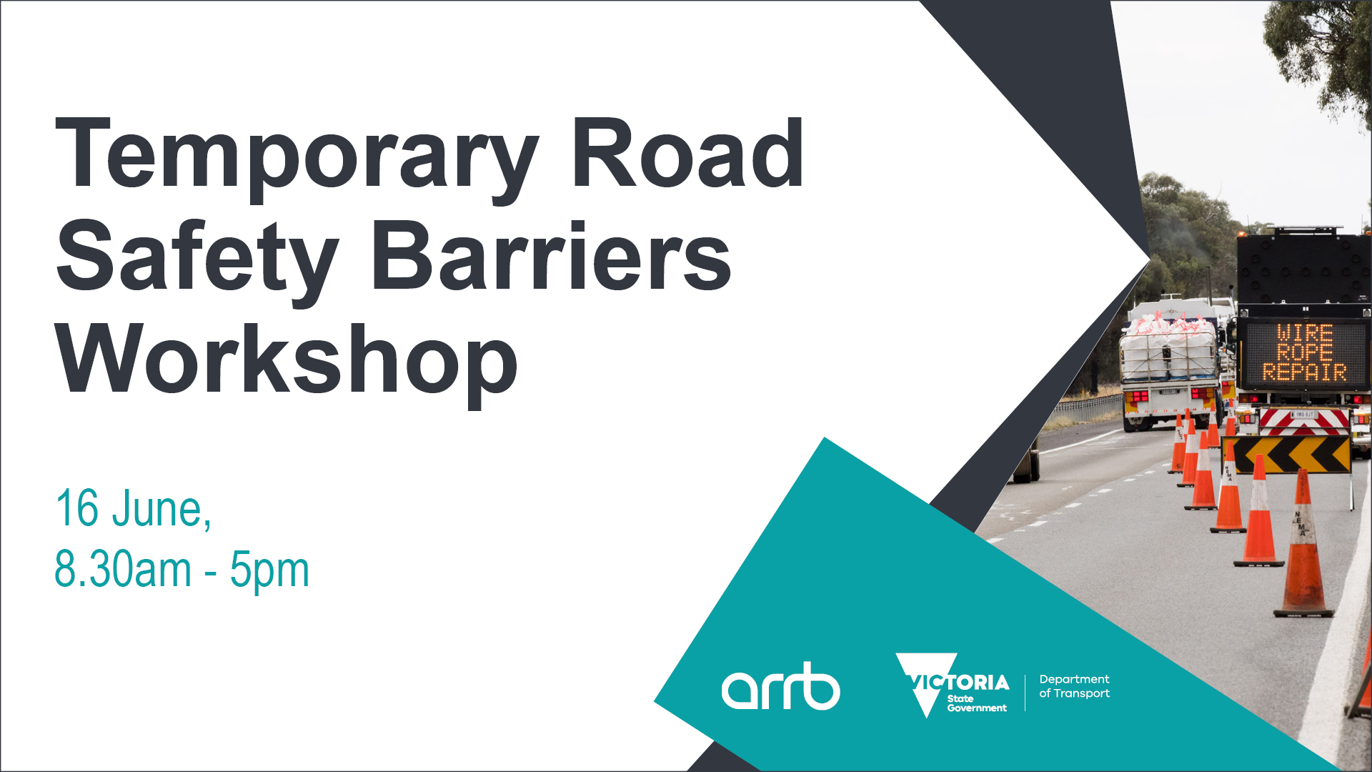 DoT Temporary Road Safety Barriers Workshop - June