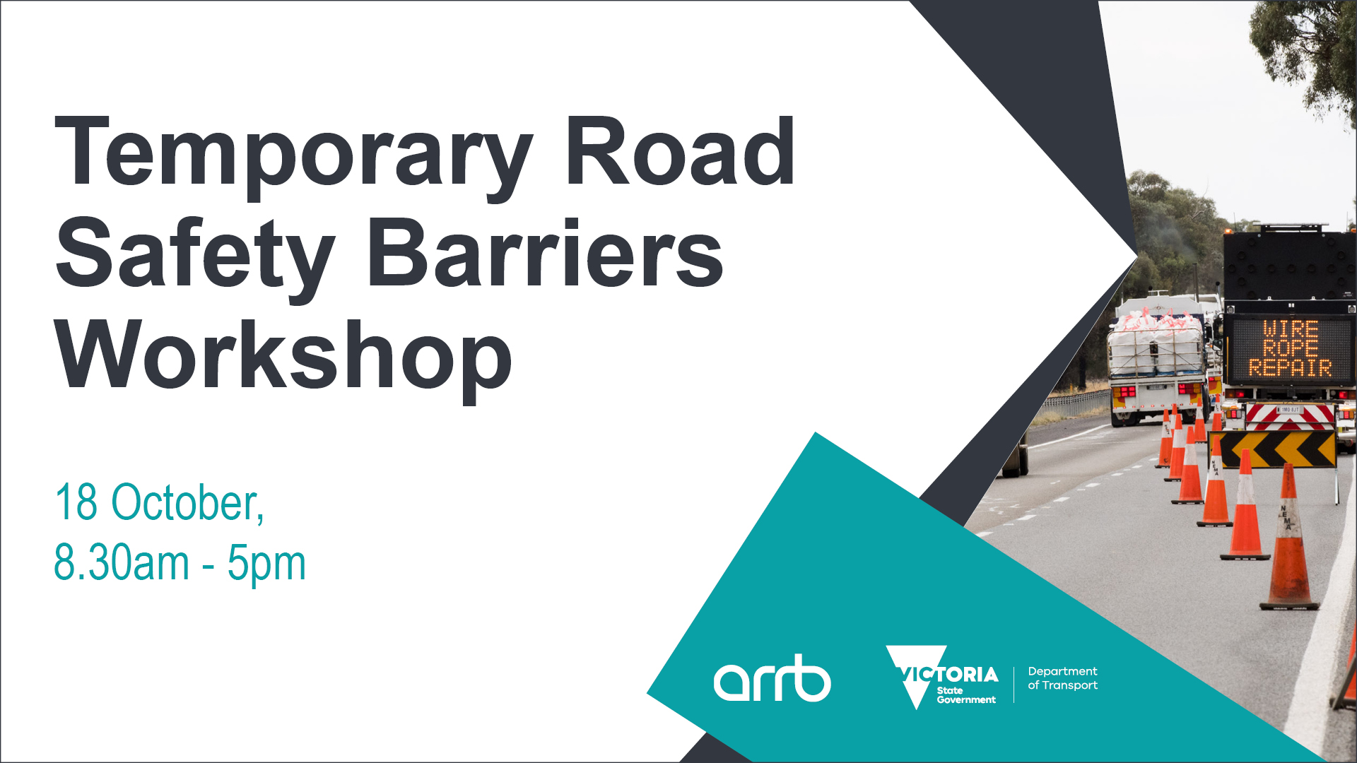 DoT Temporary Road Safety Barriers Workshop - October