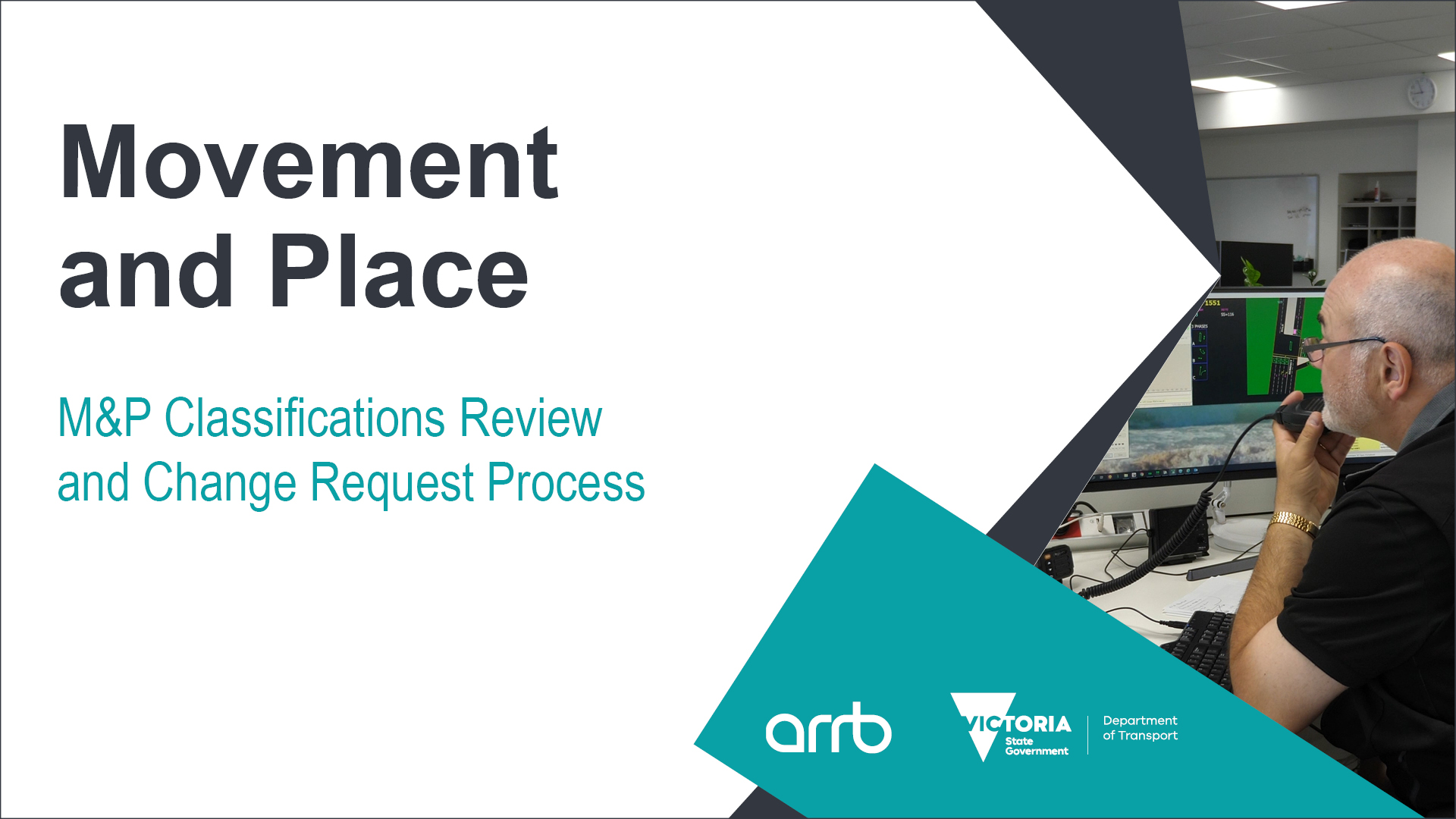 DoT Online Movement and Place - M&P Classifications Review and Change Request Process for local government - May