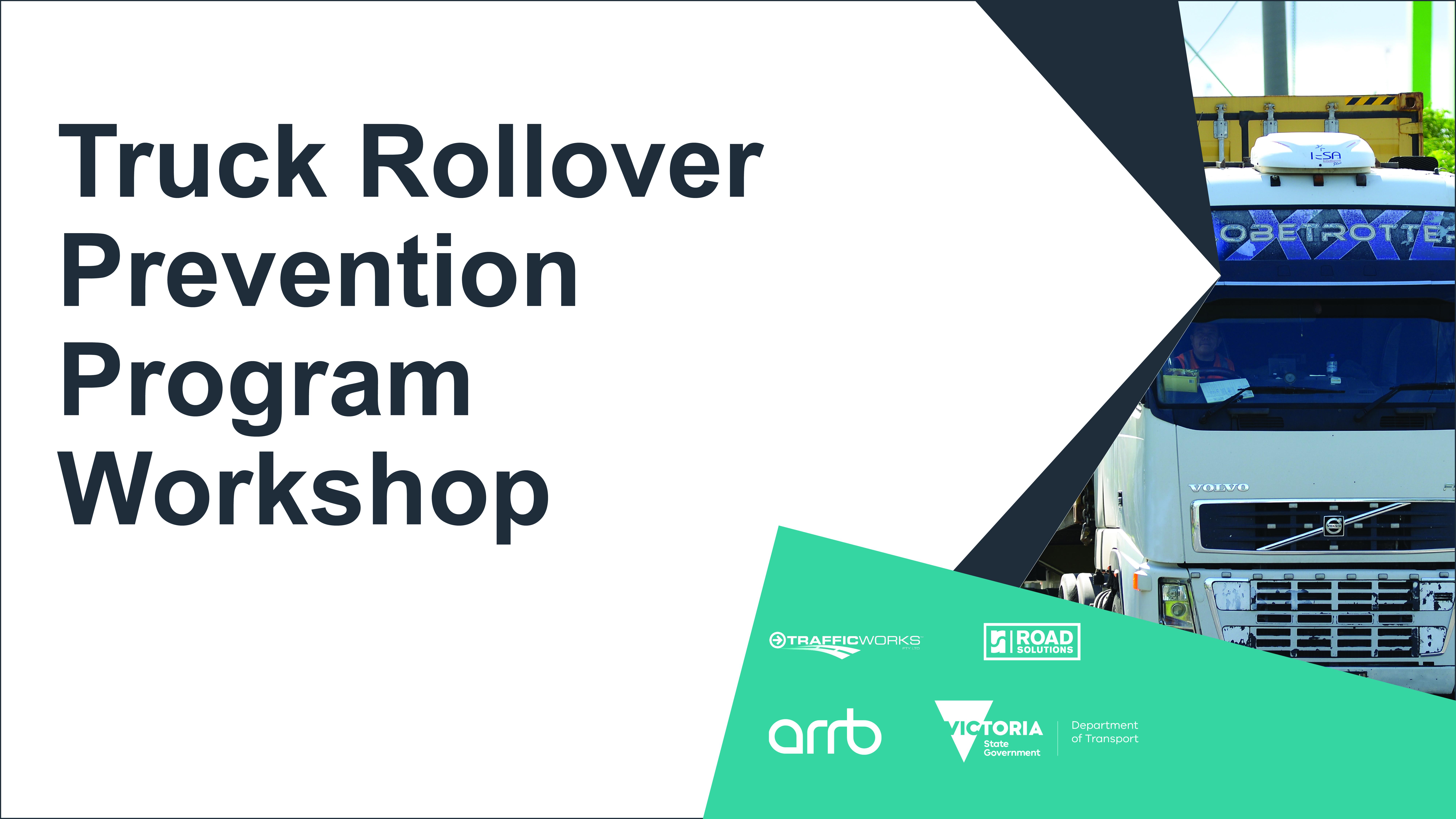 DoT Truck Rollover Prevention Program Workshop November