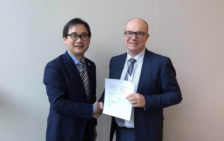 Signing of MOU-1