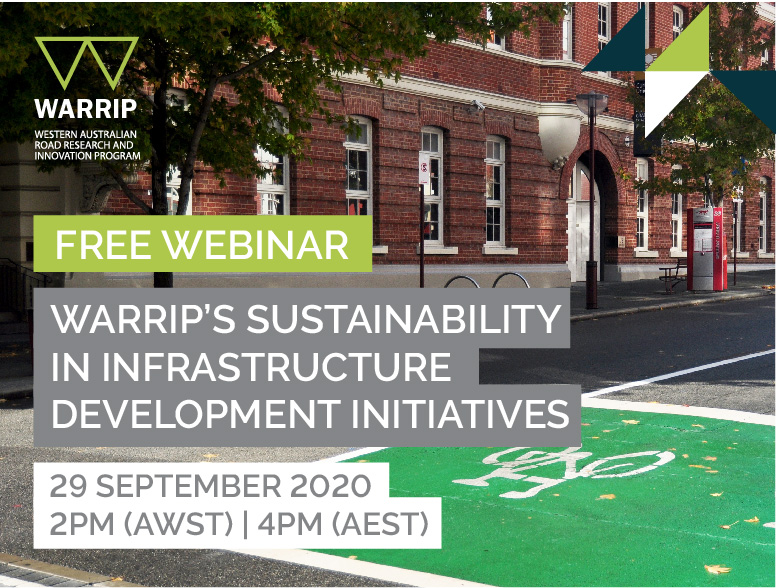 WARRIP Webinar: WARRIP's Sustainability in Infrastructure Development Initiatives