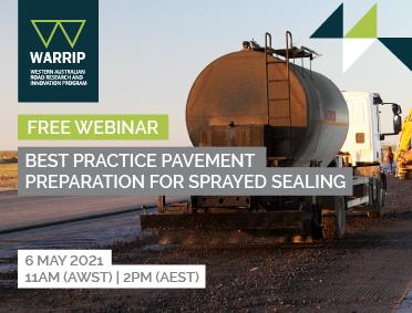 WARRIP Webinar: Best Practice Pavement Preparation for Sprayed Sealing