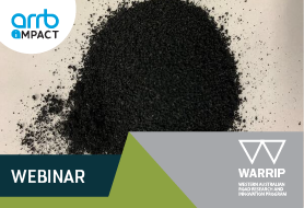 FREE WARRIP Webinar: Development of Crumb Rubber Modified Binder Asphalts in WA