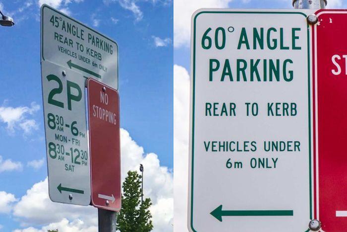 Angle reverse parking - Image via ABC Central West Melanie Pearce.jpg