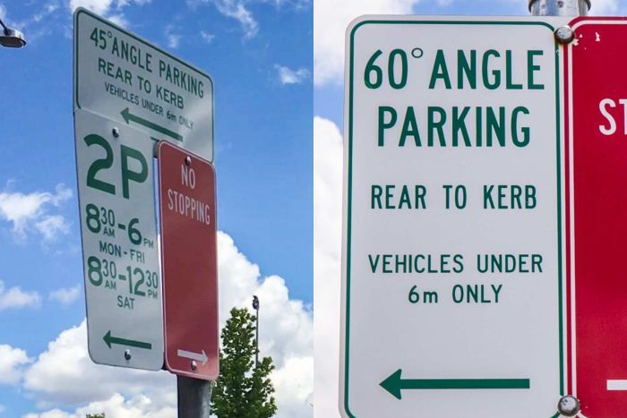 Angle reverse parking - Image via ABC Central West Melanie Pearce.jpg