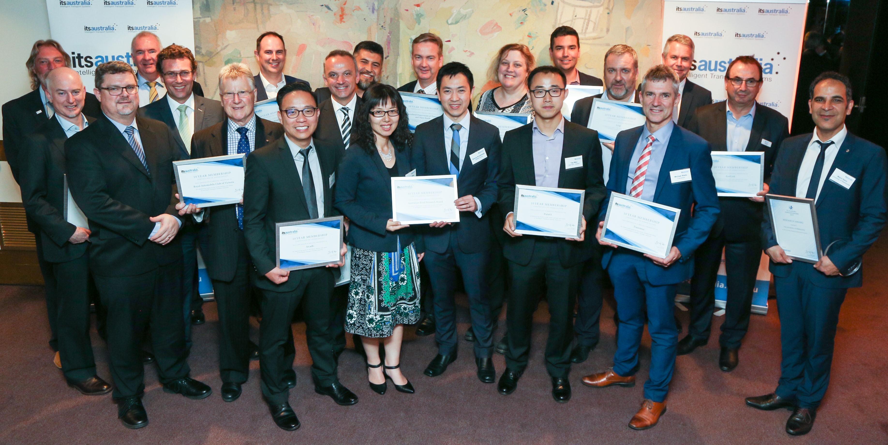 ITS awards night ARRB 10 years membership.jpeg
